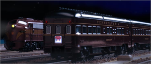 Kato N Scale E8 and 10 car Broadway Limited Passenger Set